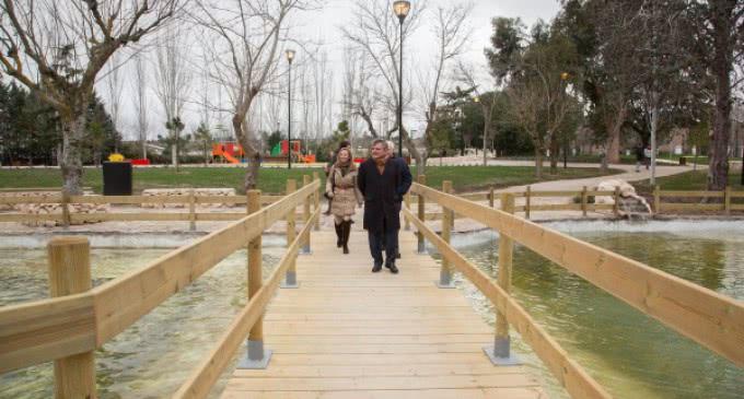 Los majariegos ya disfrutan del Parque Cerro del Aire con 5.000 metros cuadrados de juegos infantiles