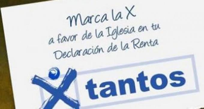 Marca la X de la Iglesia en tu Declaración de la Renta.
